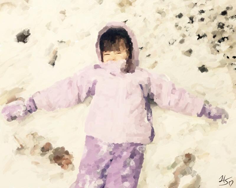 Day 667 Snow Angel