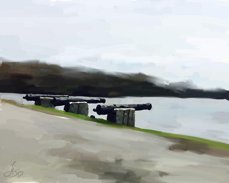 Day 748 Cannons On
