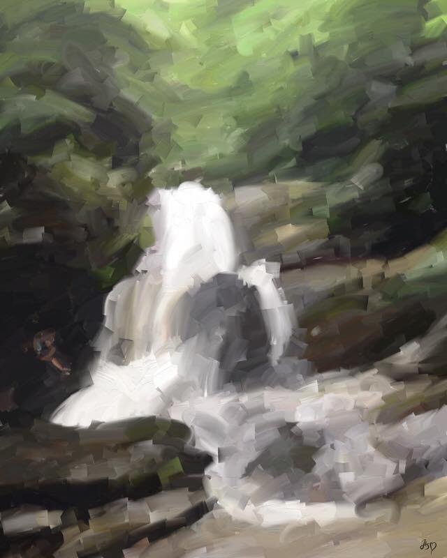 Day 836 Pee Waterfall